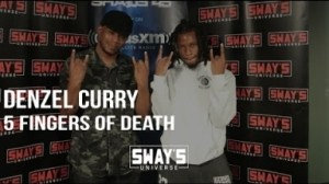 Video: Denzel Curry - 5 Fingers of Death Freestyle